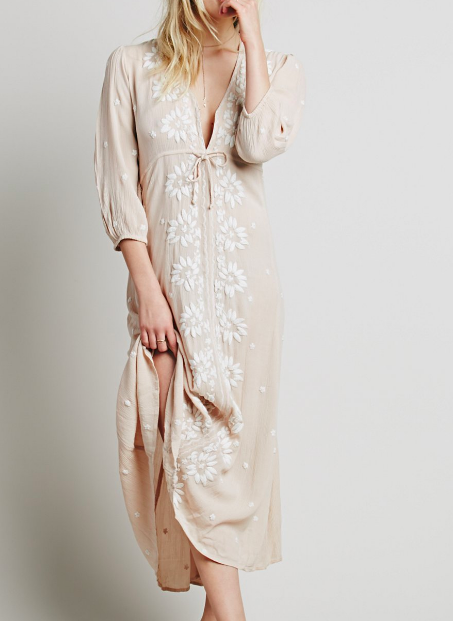 FP Embroidered Fable Dress