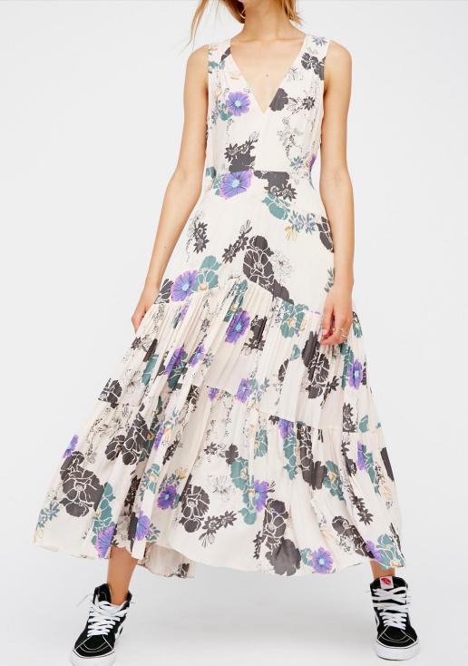 FP Sure Thing Printed Maxi Dress