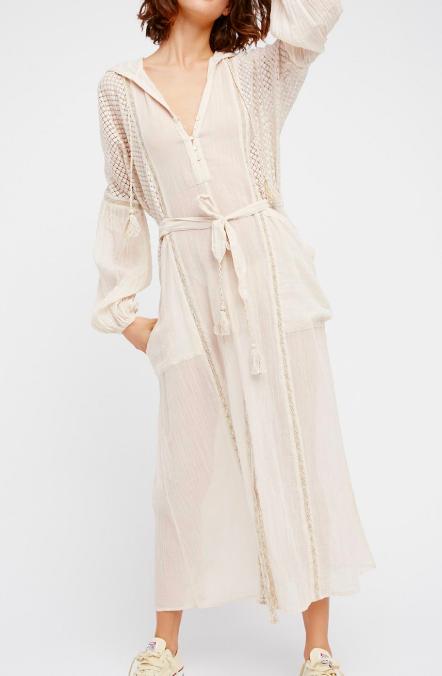 FP Most Loveliest Hoodie Dress