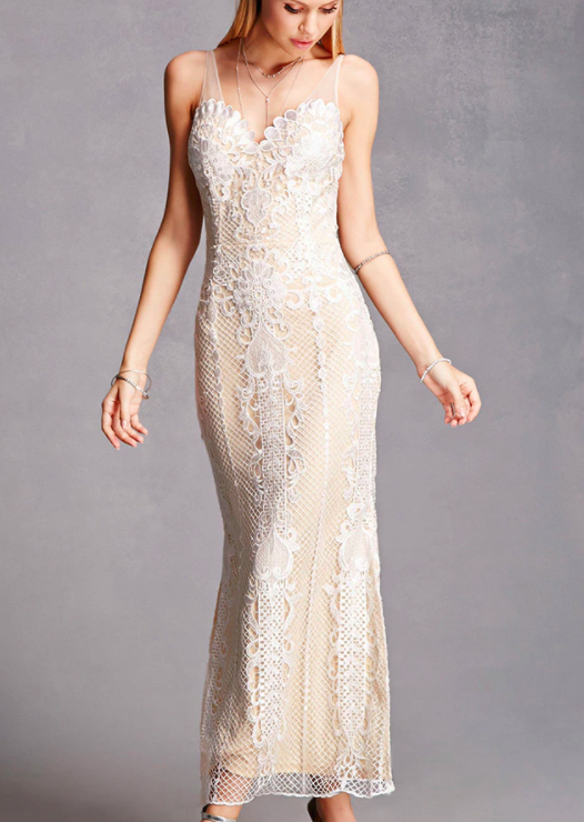 Soieblu Crochet Maxi Dress