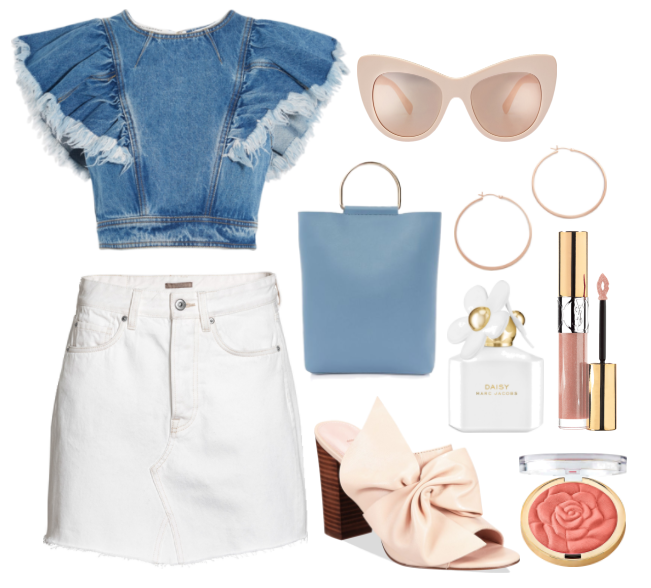 One Mini Skirt, Styled 3 Ways | TrufflesandTrends.com