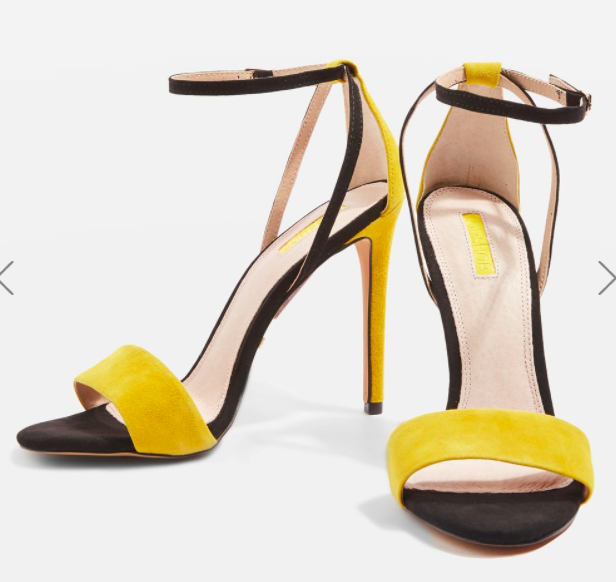 Topshop RAPHAEL Two Part Sandals
