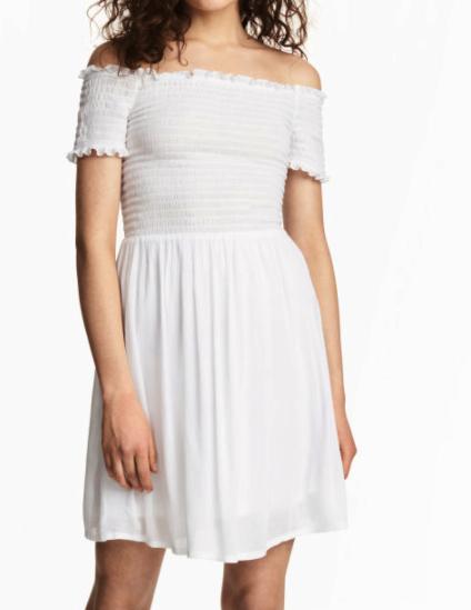 HM Dress with Smocking