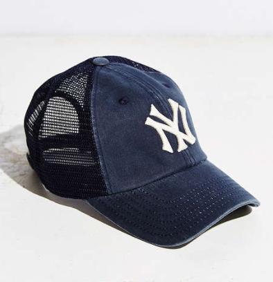 American Needle MLB Raglan Mesh Baseball Hat