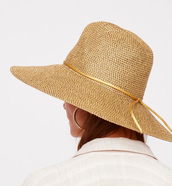 Sancho Metallic Packable Hat