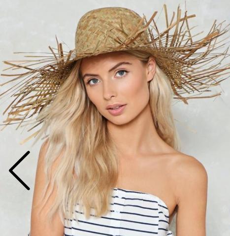 Nasty Gal Basket Case Straw Hat