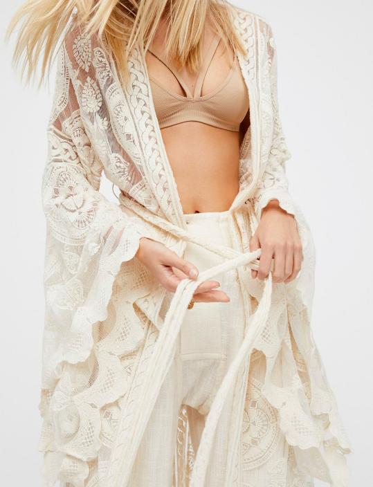 FP Mandala Mantra Kimono