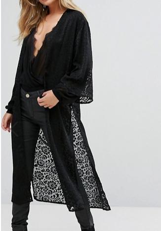 New Look Longline Kimono