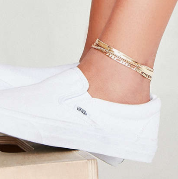 UO Chain Anklet Set
