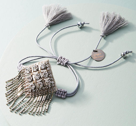 Deepa Fringed Friendship Bracelet