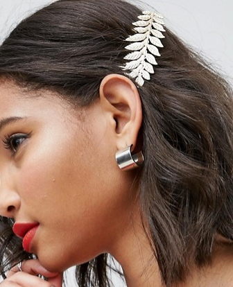 ASOS Occasion Leaf Hair Comb