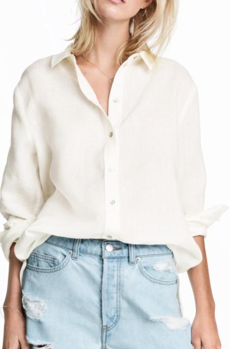 HM Linen Shirt