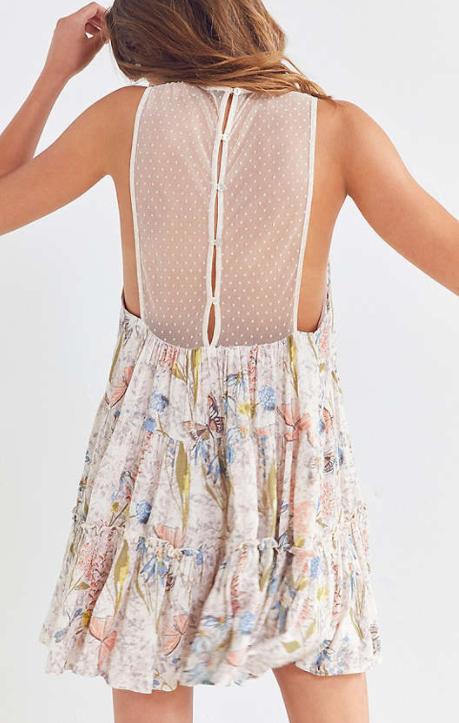 Kimchi Blue Aurora Trapeze Mini Dress