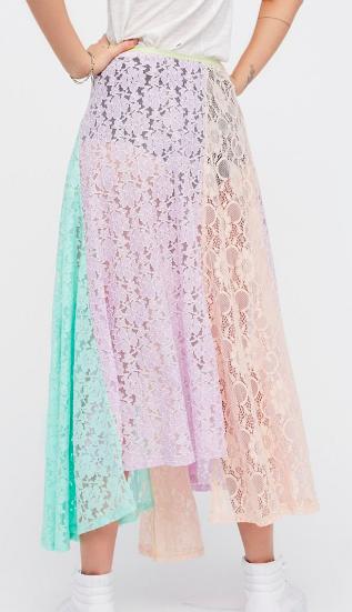 FP Color Me Maxi Skirt