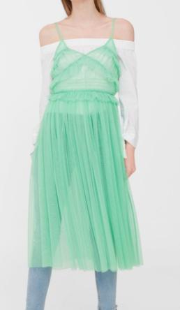 Mango Tulle Dress