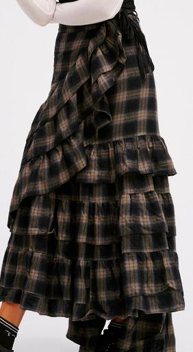 FP Enya Plaid Skirt