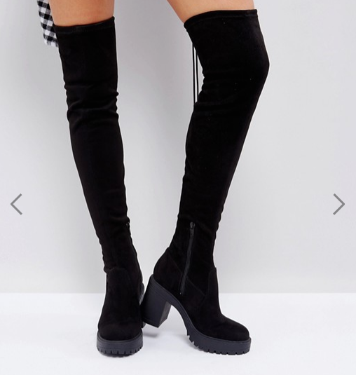 ASOS KICK UP Chunky Over The Boots