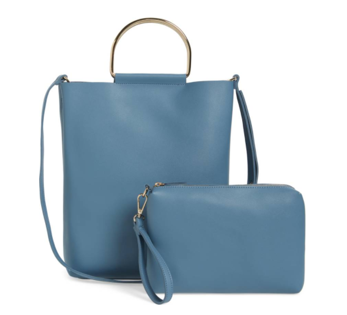 Faux Leather Tote TOPSHOP