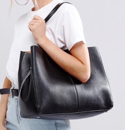 ASOS Snake Handle Shopper Bag