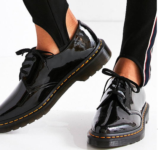 Dr. Martens Dupree Patent Leather 3-Eye Shoe