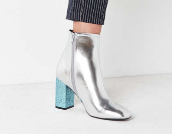 Aries Glitter Ankle Boot
