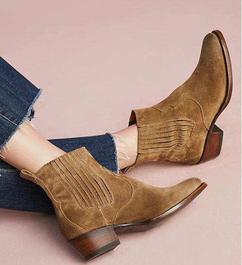 Frye Diana Chelsea Western Boots