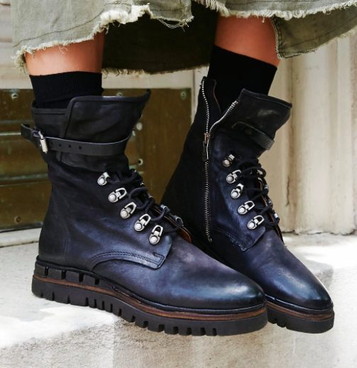 FP Dark Coastal Lace-Up Boot