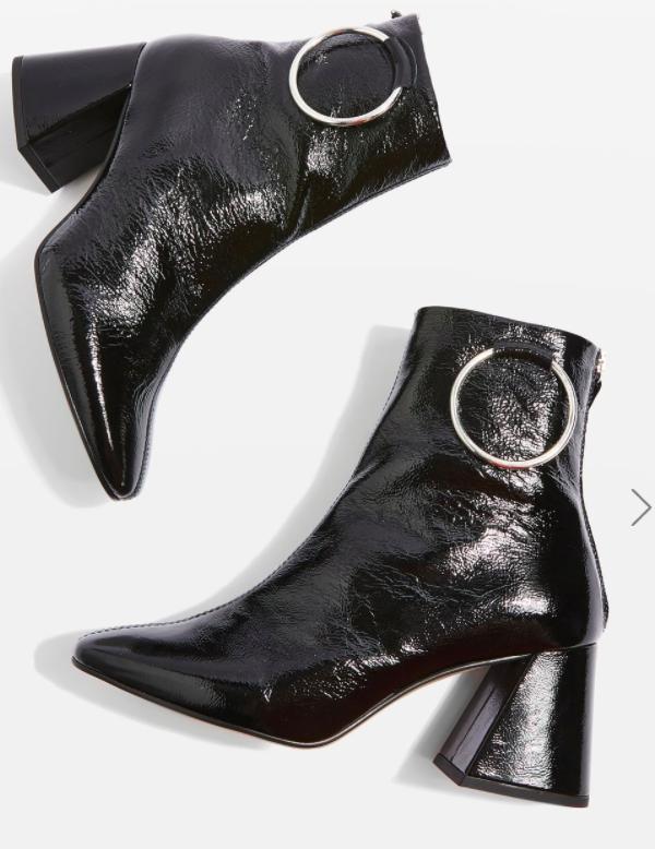 Topshop MIA Ring Boots
