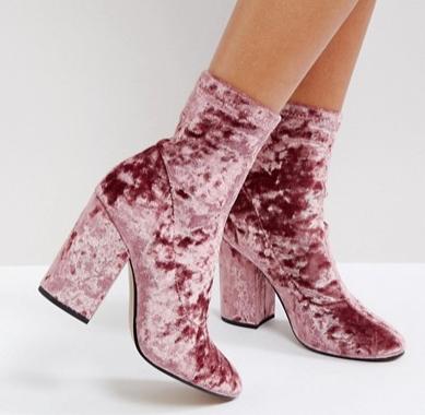 ASOS ELABORATE Sock Boots