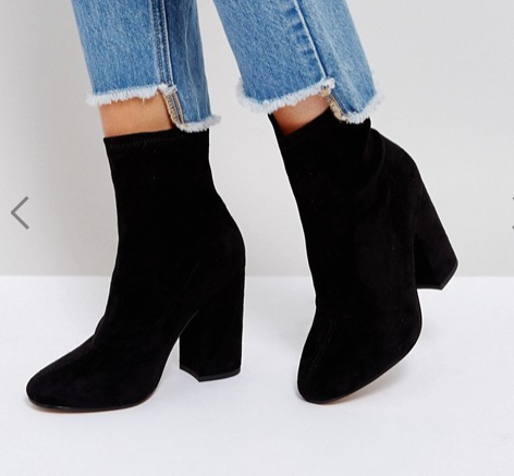 ASOS ELABORATE Sock Boots