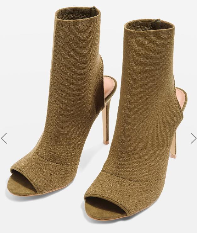 Topshop MADAME Sock Boots