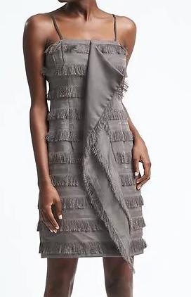 Heritage Cascade-Front Fringe Dress