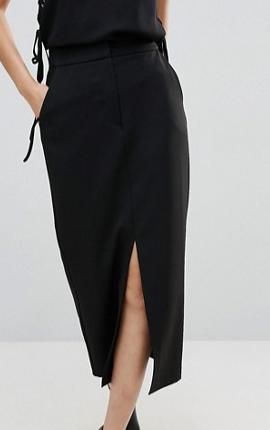 ASOS Tailored Clean Column Pencil Skirt
