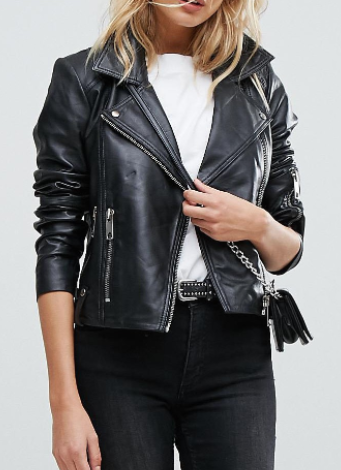 Vero Moda Leather Biker Jacket