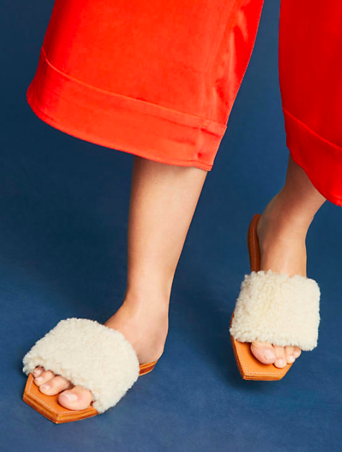 Parme Marin Bold It Out Slide Sandals