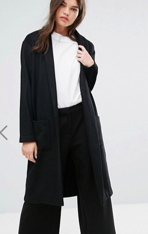 Weekday Drapey Knit Coat