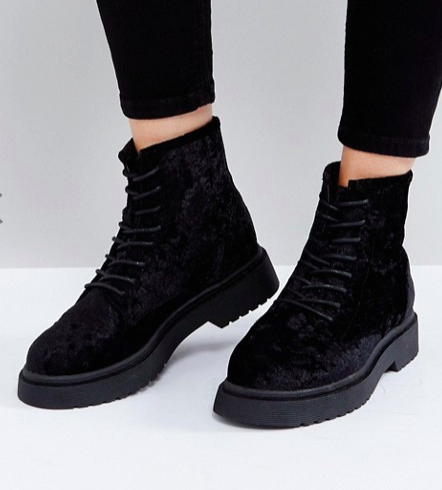 ASOS ADVENTURE Lace Up Ankle Boots