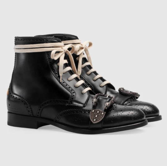 Queercore Combat Boot GUCCI