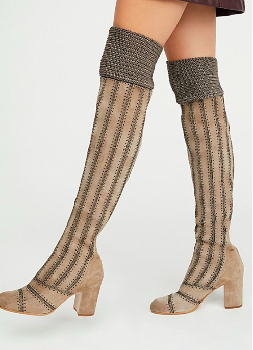 JEFFREY CAMPBELL Elise Over-The-Knee Boot
