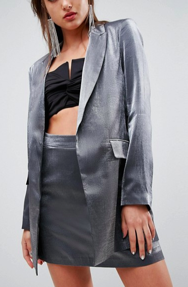 ASOS Tailored Metallic Blazer