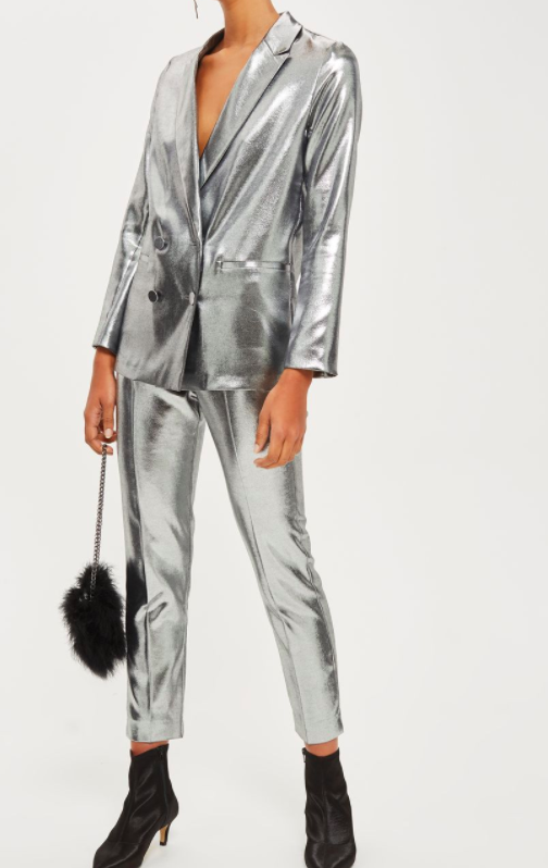 TOPSHOP Metallic Suit