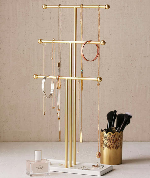 Trigem Tabletop Jewelry Stand