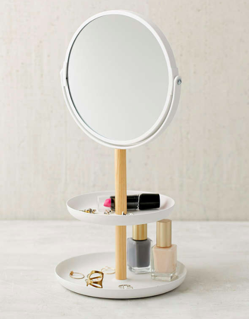 Yamazaki Tosca Tiered Catch-All Dish With Mirror