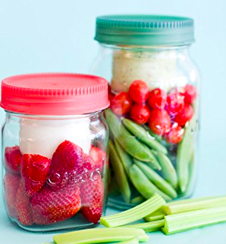 Consol 2-in-1 Classic Mason Glass Jar with a Smaller Jar Inside