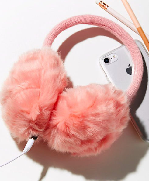 Knit Bon Bons Earmuff Headphones