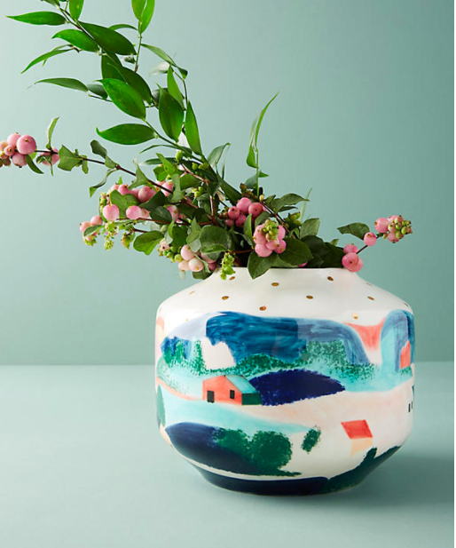 Anthropologie Wonderland Vase