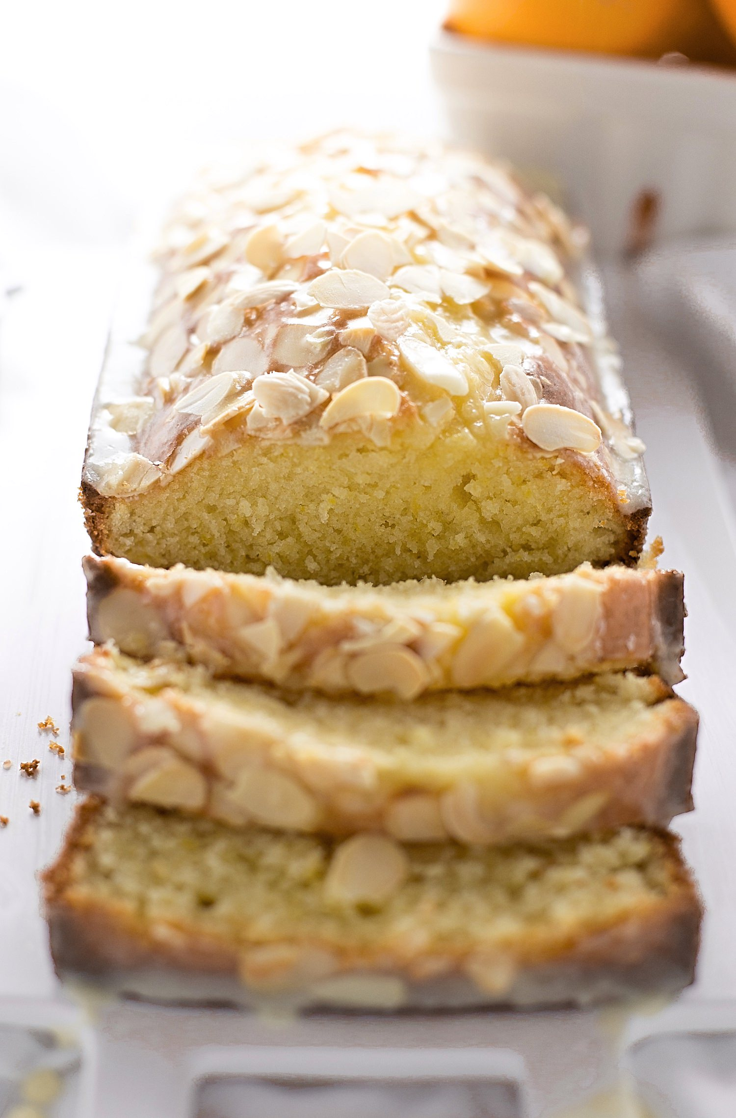 Moist Orange Almond Bundt Cake | TrufflesandTrends.com