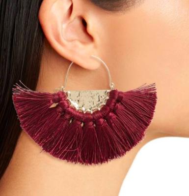 Oversize Fan Earrings BP.