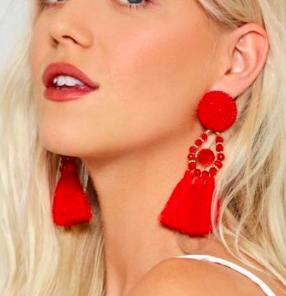 Shake It Off Tassel Earrings