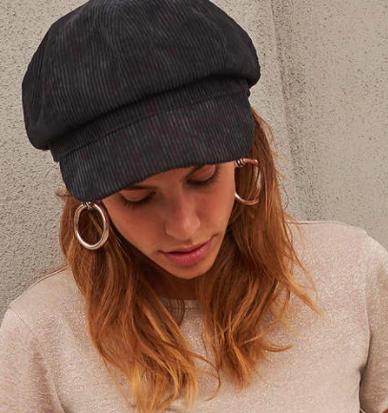 UO Corduroy Cabbie Hat